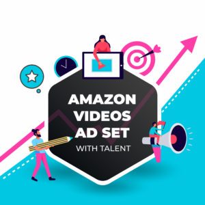 Top Rated Amazon Video Ad Set with Talents